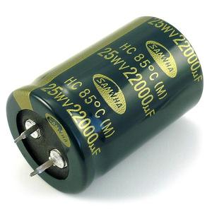 Elyt SNAP-IN CE 22000M/25V HC-85
